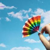 把心放宽,生活中到处都可以看见彩虹